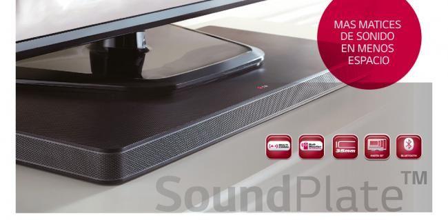 Sorteo de una barra de sonido SoundPlate de LG