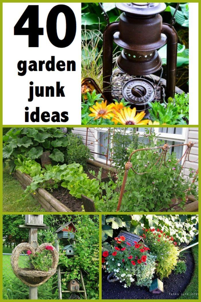 Best 25+ Garden junk ideas on Pinterest | Primitive garden ...
