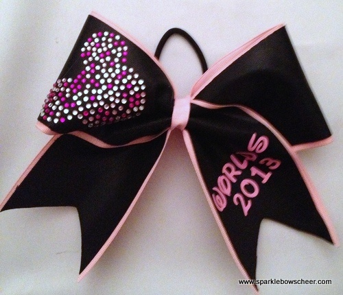 Worlds Bow with Pink Minnie Mouse!