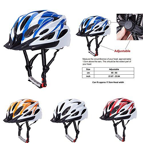 Adult Bike Helmets - CLemon Adult Cycling Bike Helmet Adjustable Trinity Men Women Mountain Bicycle Road Bike Helmet with Visor  Honeycomb Type 18 Vents Breather Outdoor Sports Safety Protecting Hat ** Read more at the image link.