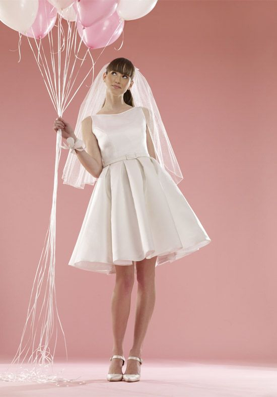 Baby Doll Scoop Short Length Wedding Dress Audrey