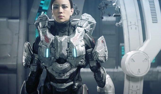future girl, armor, sci-fi, futuristic | Female Character ...