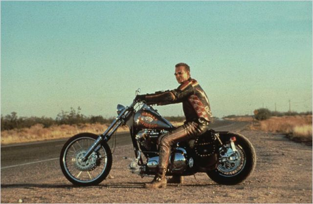 Harley Davidson Movie: Built By Gene Thomason Of Bartels' H.D. For The Movie