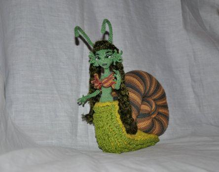 Doll amigurumi Snail (5) by Faurik