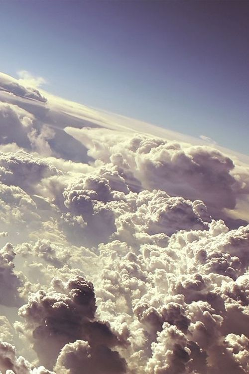 Above the clouds. (Photo set).
