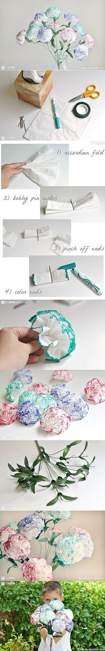 Simple tissue flowers