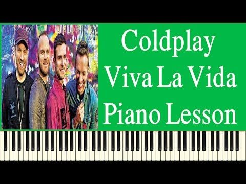 Coldplay Viva La Vida Easy Piano Lesson - How To Play Coldplay Viva La V...