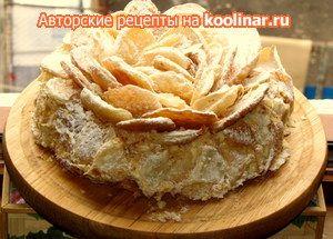 Фото к рецепту: торт  Наполеон или Эфектная  Роза(возможно Вариант)