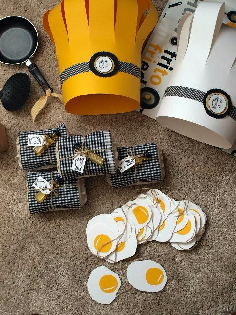 Cute Egg crafts and chef hats, I'm making the hats today for a new post!