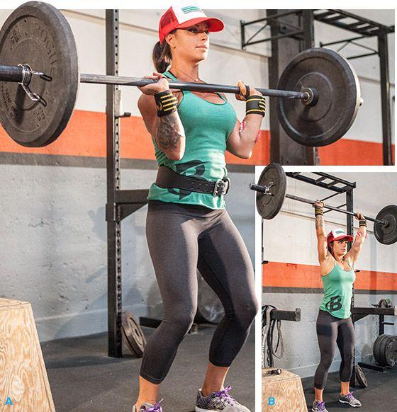 Bodybuilding.com - Ashley Horner's Full-Body Squat Rack Workout!