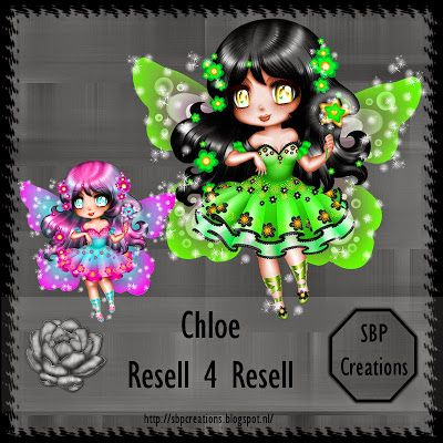 SBP Creations: Resell 4 Resell Chloe Fairy © Oky Craft