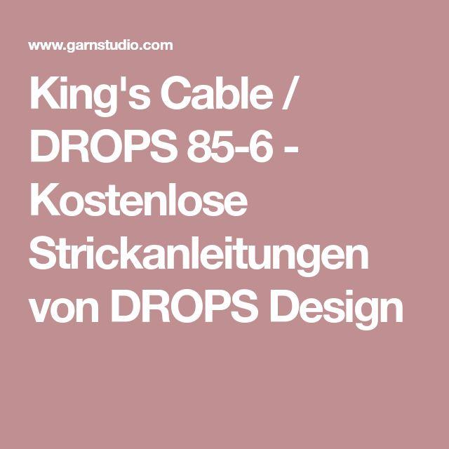 King's Cable / DROPS 85-6 - Kostenlose Strickanleitungen von DROPS Design