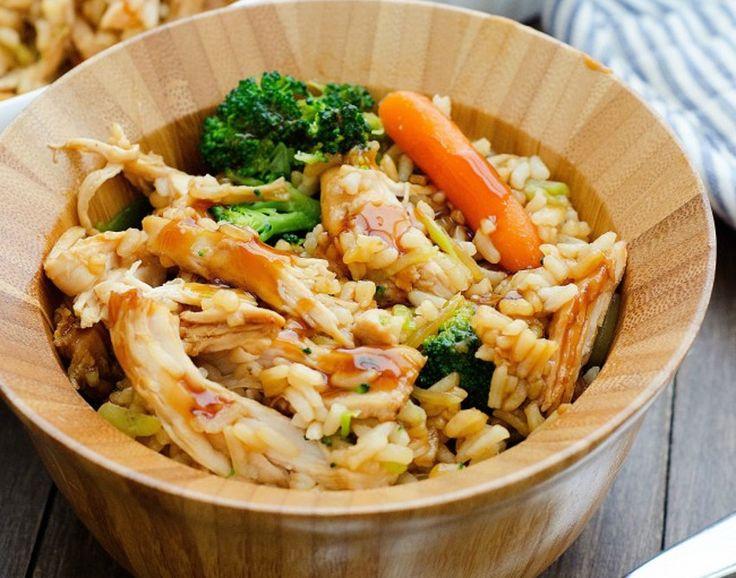 Une recette vraiment très savoureuse de poulet Teriyaki que l'on fait dans un plat pyrex super facilement :)
