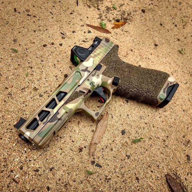 Multicam Glock 22 built by PFC Industries