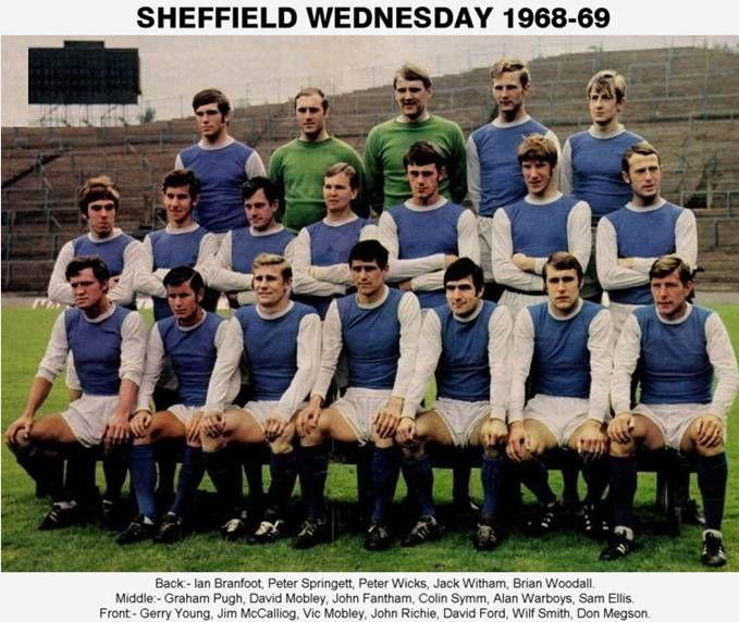 sheffield wednesday players 1968-69 - Cerca con Google