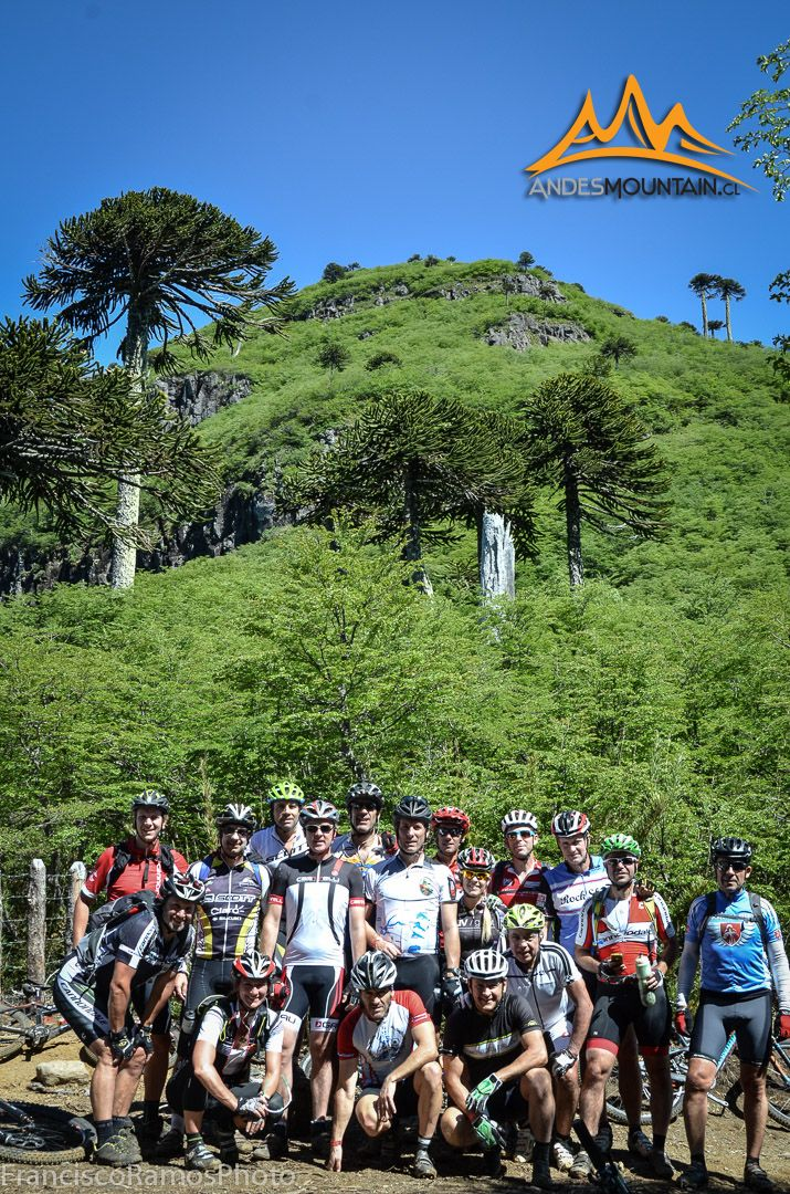 Mountain biking trip. Lonquimay Tolhuaca Andes MTB www.andesmountain.cl