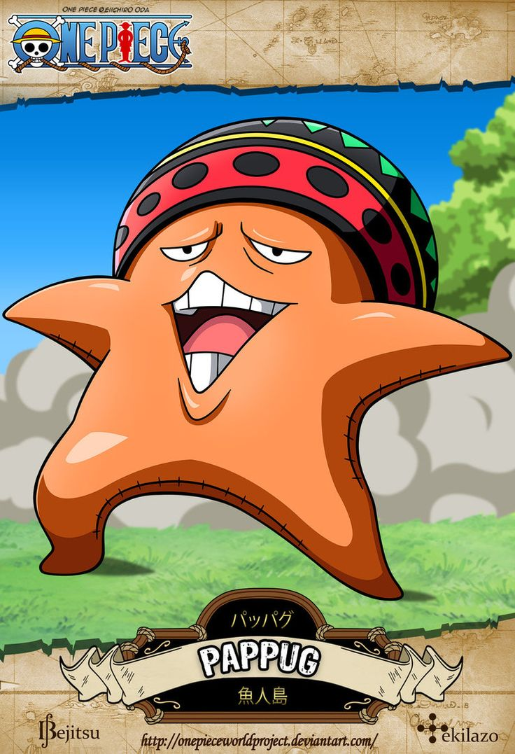 One Piece - Pappug by OnePieceWorldProject on DeviantArt