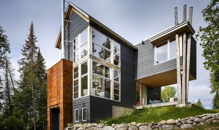 Architect Gord Lorimer's whimsical cottage won a trophy at the Housing Design Awards last fall.