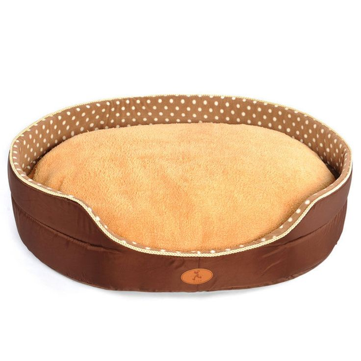 Winter Deluxe Large Dog Bed Pet Cat House Soft Cozy Pad Crate Puppy Kennel New #Unbranded