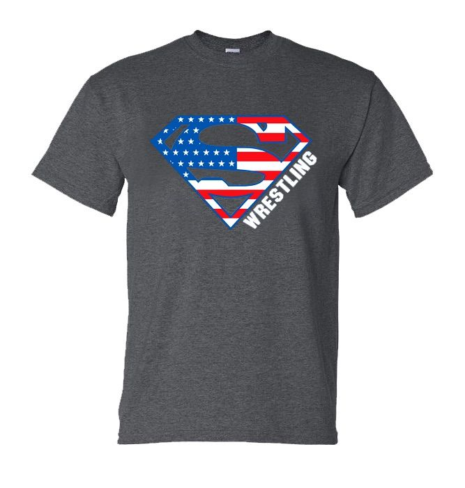 Warrior Wrestling Stars and Stripes T-Shirt | 15.00