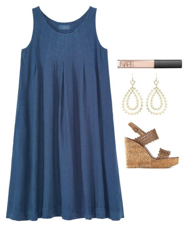 """Church"" by helenhudson1 ❤ liked on Polyvore featuring Toast, Kendra Scott, Tory Burch and NARS Cosmetics"