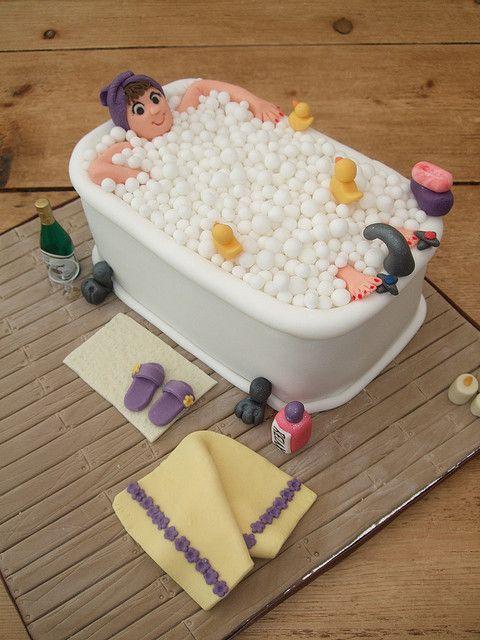 40th bath cake | Flickr - Photo Sharing!