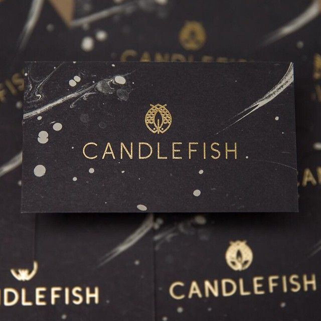 257 best business cards images on pinterest visit cards candlefish by fuzzco reheart Images