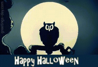 Happy Halloween - Animated eCards, Gifs & Pictures. - http://greetings-day.com/happy-halloween-animated-ecards-gifs-pictures.html