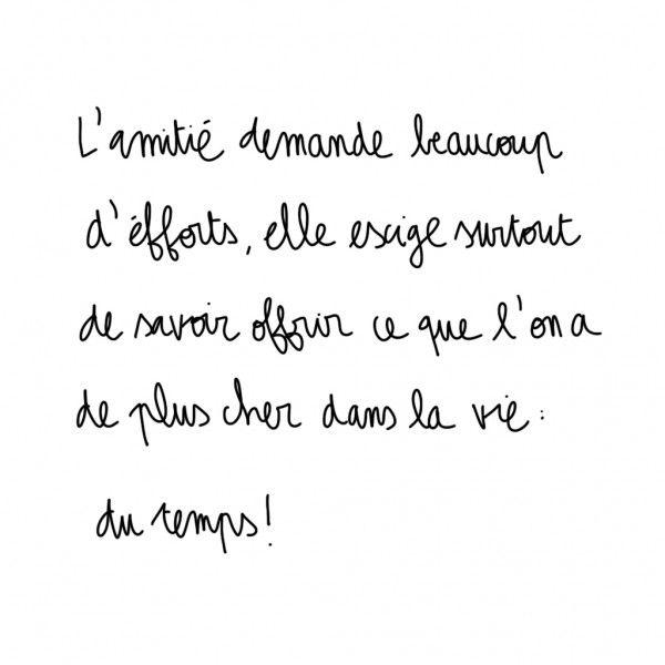 Catherine Deneuve D'autres citations > http://www.elle.fr/Love-Sexe/Celibataires/Articles/citations-amitie/Catherine-Deneuve