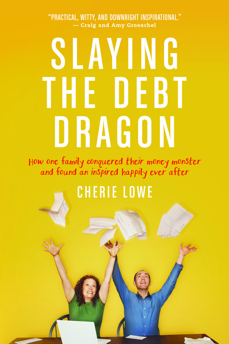 Enter to win an advanced autographed copy of Slaying the Debt Dragon, the story of a family who paid off $127K in less than four years.