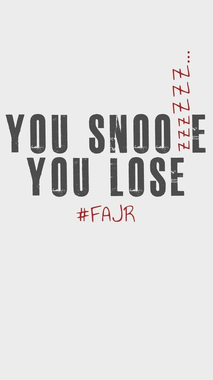 Now that it's Ramadan, i bet it must be a lot easier for Muslims to wake up for Fajr. Take time for sahoor and happy fajr :)