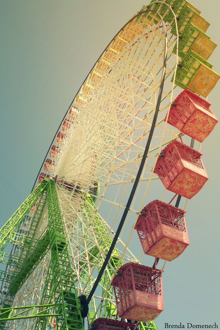 Beautiful Ferris Wheel - one of my favs