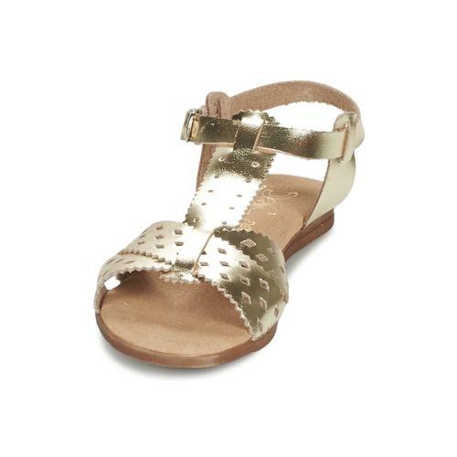 Citrouille et Compagnie MONAKILO DORADO - Envío gratis con Spartoo.es ! - Zapatos Sandalias Nino 28,00 €