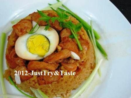 Nasi Tim Ayam: Seriously Delicious! | Just Try & Taste