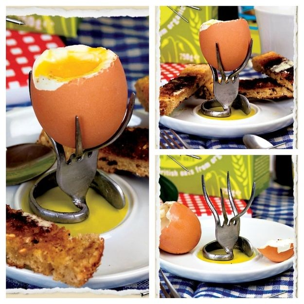 7. Egg Cup | 30 Quirky Ways To Use Your Utensils