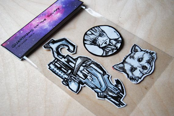 Guardians of the Galaxy inspired Sticker Set / Groot & by WAIQ