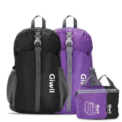 Mochila Ultraligera Plegable de 20L Giwil por 9,99€  Os traemos una mochila para los mas aventureros. con un diseño ligero y a la moda: De material super ligero de sólo 0.2Kg, sin sensación de carga. Diseño sencillo, de moda y durable.    #descuento #excursión #giwil #mochila #oferta #ultraligera