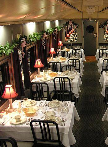 Strasburg railroad christmas feast ideas