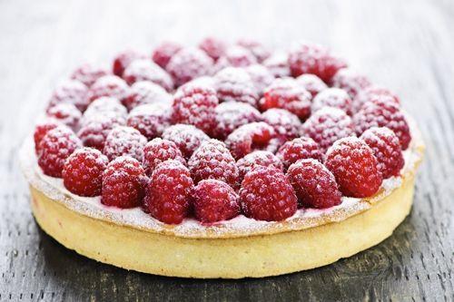 Tarte aux framboises à l'italienne | Pause GourmandePause Gourmande