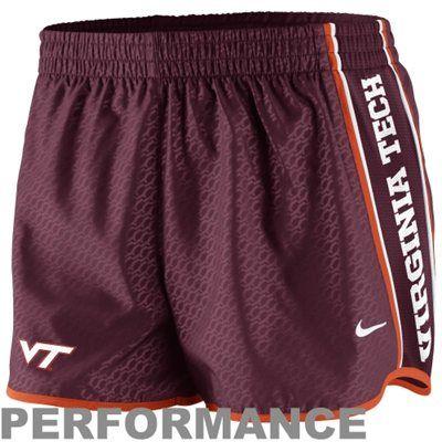 Virginia Tech Hokies Womens NIke Performance Shorts