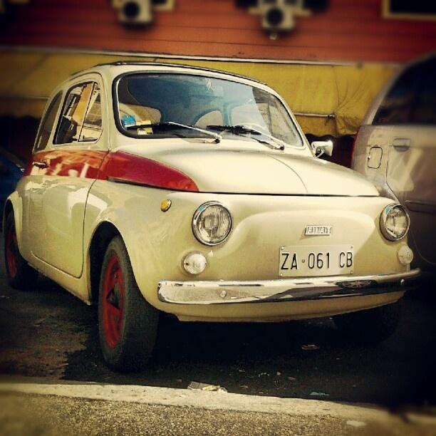 Rome! Po raz pięćsetny Fiat 500.