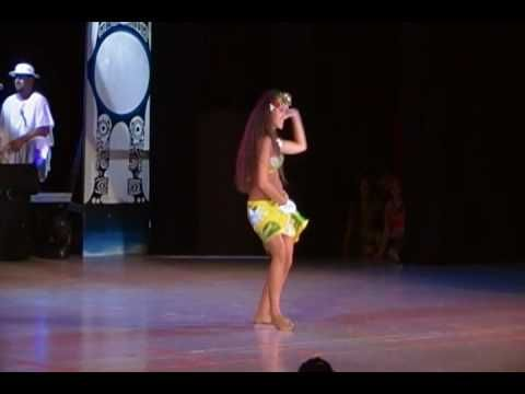 Polynesian dance competition (whew - I need a drink of water!)