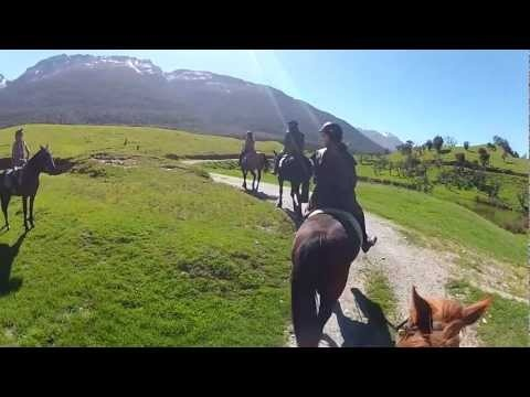 Journey to the beautiful scenery around Glenorchy and Paradise. From the comfort of a 4WD vehicle or from the excitement of horseback you'll explore the film locations used in The Lord of the Rings Trilogy and other movies.  #middle-earth #Queenstown