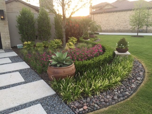 Another Beautiful Landscaping Project Done By Cut N Edge Lawn U0026 Landscape /Arizona