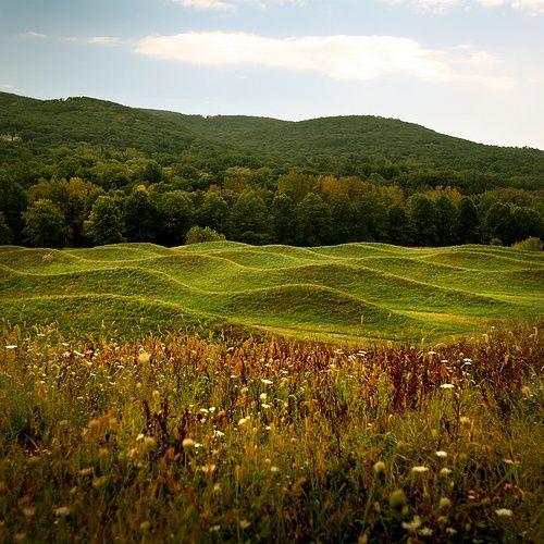 Maya Lin - Wave Field, Storm King Art Center, Mountainville, NY