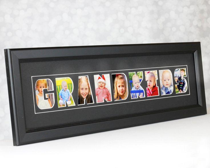 Grandparent christmas gift frame for grandchildren photos