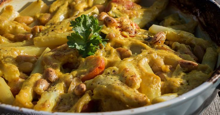 Cuisine-à-Vous - Stoofpotje van kip, asperges en kurkuma