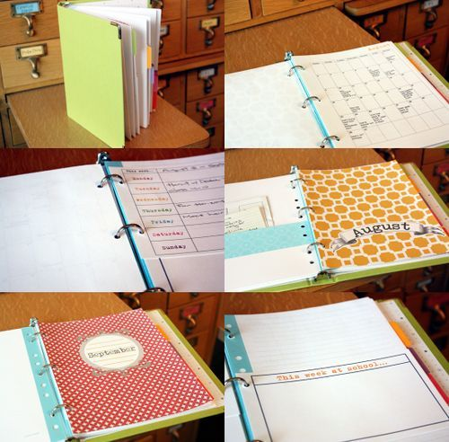 Binder/Planner Ideas