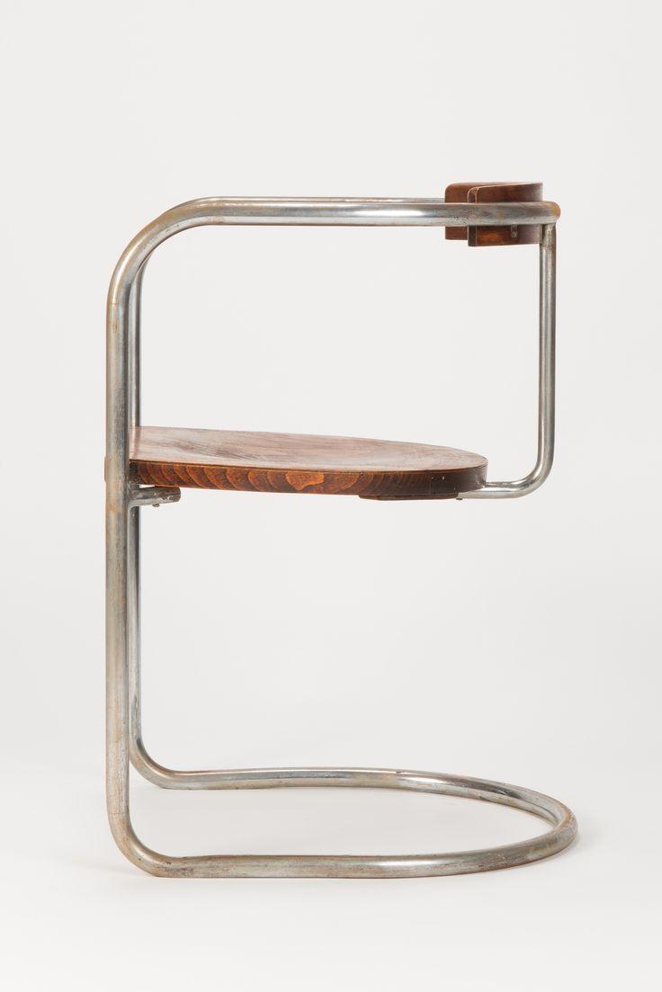 Bauhaus Steel Tube Cantilever Chair 30s