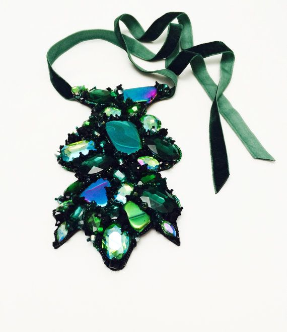 WILD GLAM - collection, PINE green - model on Etsy, 120,00 $